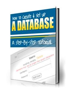 Como Crear y Configurar Una Base de Datos