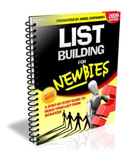 Lista de Construccion para Novatos